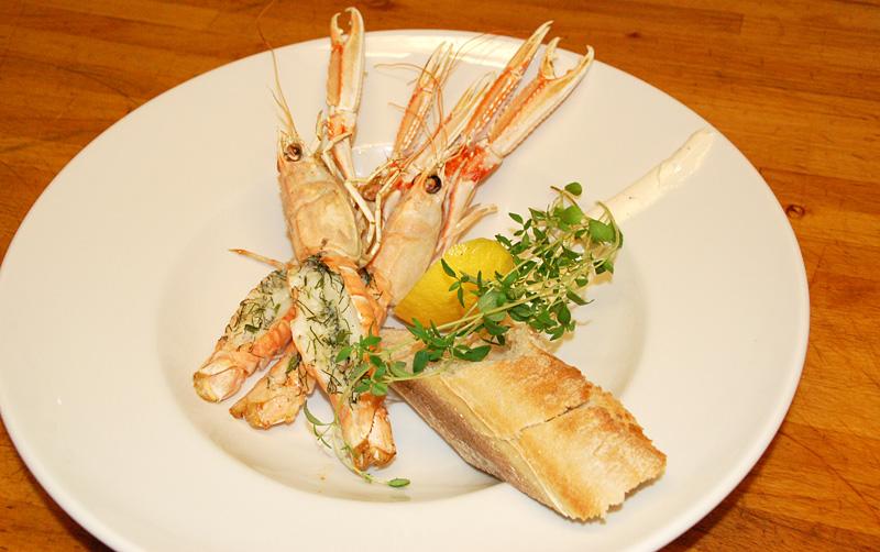 gratinerade havskräftor catering märtas mat