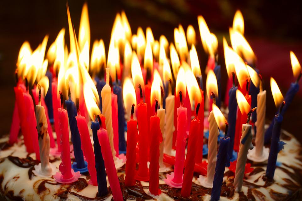 Födelsedag fira på restaurang